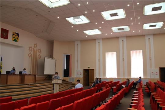 Состоялось внеочередное заседание комиссии по предупреждению и ликвидации чрезвычайных  ситуаций и обеспечению пожарной безопасности г. Новочебоксарск.