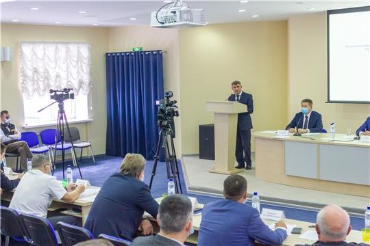 Олег Николаев принял участие в заседании коллегии Минтранса Чувашии