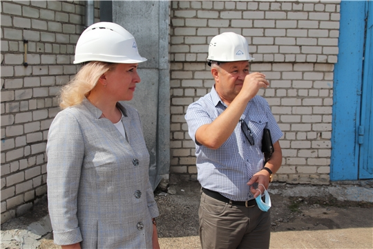 «Коммунальные сети Новочебоксарска» посетила руководитель Государственной службы Чувашской Республики по конкурентной политике и тарифам Надежда Колебанова