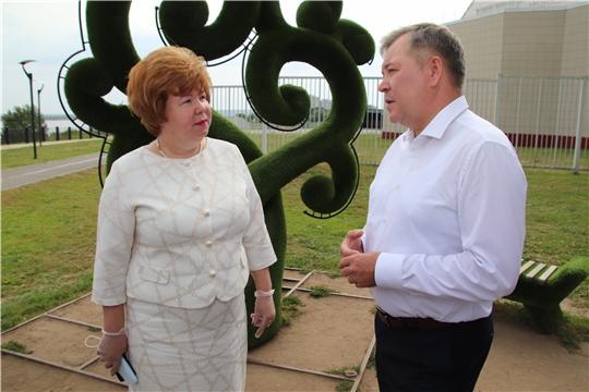 Депутат Госдумы Николай Малов посетил Новочебоксарск