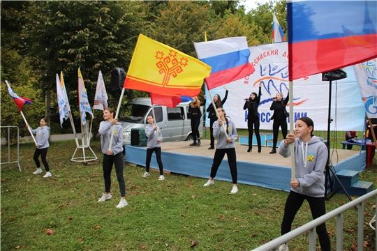 В Новочебоксарске прошел Всероссийский день бега «Кросс нации — 2020»