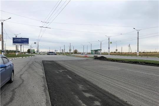 В Новочебоксарске продолжается ремонт дорог в рамках национального проекта «Безопасные и качественные автомобильные дороги»