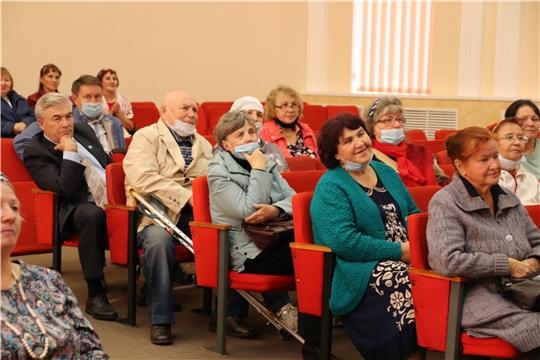 В Новочебоксарске состоялось торжественное мероприятие, посвященное Международному Дню пожилого человека