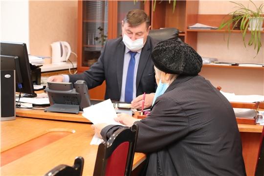 В администрации города Новочебоксарска возобновлен прием граждан