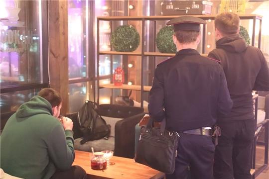 В Новочебоксарске прошел очередной рейд по соблюдению запрета на курение кальянов