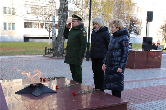 Новочебоксарск присоединился к акции памяти «Строителям безмолвных рубежей…»