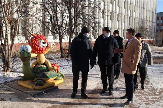 В Новочебоксарске торжественно открыли общественные пространства  благоустроенные по программе «Формирование современной городской среды»