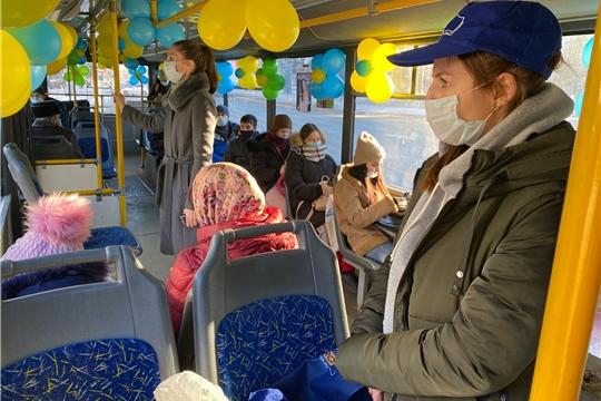 Более 200 новочебоксарцев проехались на бесплатном экскурсионном троллейбусе