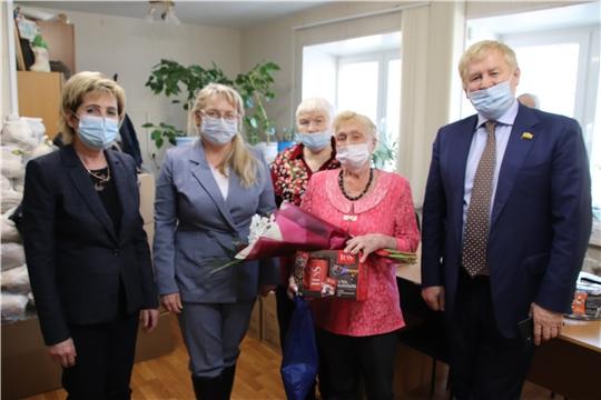Городское отделение «Всероссийского общества инвалидов» приняло поздравление от администрации Новочебоксарска