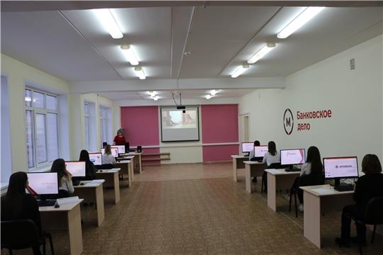 В Чебоксарском экономико-технологическом колледже открыли пять мастерских, оснащенных современным оборудованием