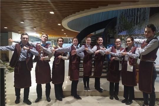 Студенческий  отряд из Чувашии стал лучшим по итогам участия в Межрегиональном зимнем трудовом проекте «Ялта»