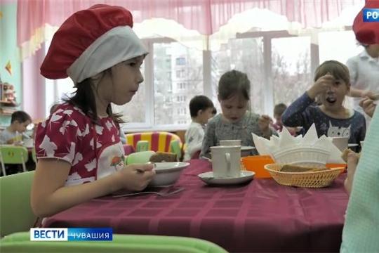 В детсадах Чувашии модернизируются пищеблоки и улучшается качество питания малышей Источник: https://chgtrk.ru/news/25991