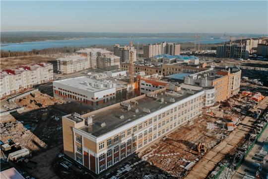 """Одна из самых больших школ в ПФО откроется в Чебоксарах в текущем году, """"Советская Чувашия"""""""