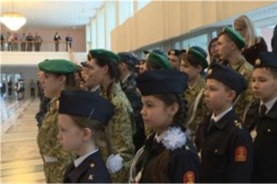 Строевая подготовка, рукопашный бой, кадетский вальс, НТРК