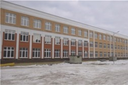 Строительство самой большой школы в республике выходит на финишную прямую, НТРК