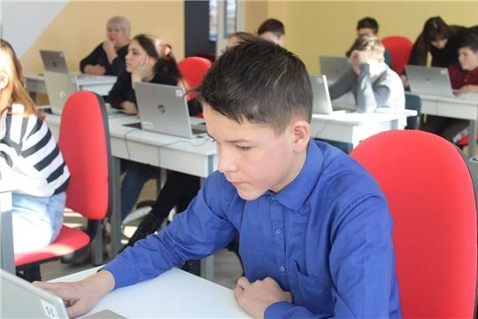 Образовательная акция для школьников «Позитивный интернет» в «IT-Куб.Канаш»
