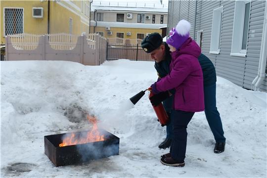 Школьникам напомнили о правилах пожарной безопасности
