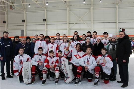 Команда «Спартак» – победитель республиканских игр «Золотая шайба» в старшей группе