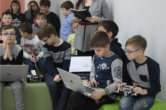В преддверии Дня Защитника Отечества Центр цифрового образования детей «IT-Куб.Канаш» провел турнир по робототехнике «Военный технопарк»
