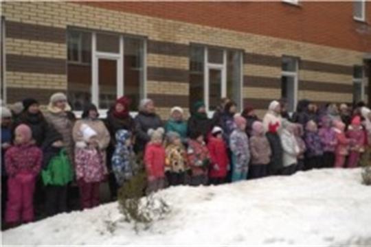 В столичном микрорайоне «Солнечный» открылся новый детский сад, НТРК