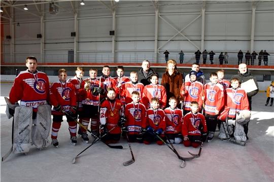 Юные хоккеисты Чувашии вышли в суперфинал «Золотой шайбы»