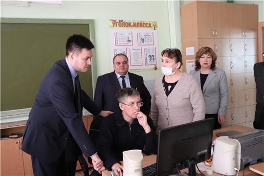 Педагоги рассказали и.о.министра Сергею Яковлеву как будет организовано  дистанционное обучение учеников