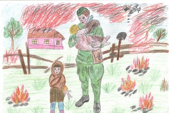 78 работ представили школьники Чувашии на республиканский этап Всероссийского конкурса «Письмо солдату. О детях войны»
