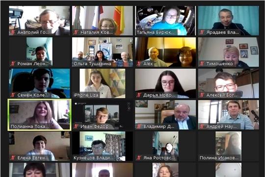 Шумерлинские гимназисты –участники первой виртуальной межрегиональной школы космического образования «КоSмоПРОЕКТЫ онлайн»