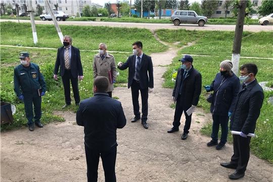 Министр Сергей Яковлев посетил с рабочей поездкой Красночетайский район