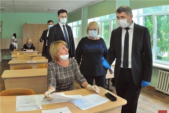 """В школах прошли пробные ЕГЭ без учеников, """"Советская Чувашия"""""""