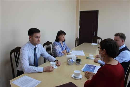 Министр Сергей Яковлев провел рабочую встречу с представителями группы компаний «Просвещение»