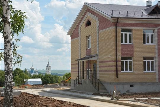 В селе Байгулово Козловского района завершается  строительство новой школы на 165 мест, с пристроем помещений для дошкольных групп на 40 мест