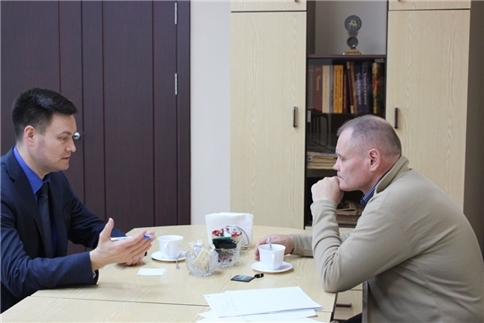 Министр Сергей Яковлев провел рабочую встречу с депутатом Государственной Думы Игорем Моляковым
