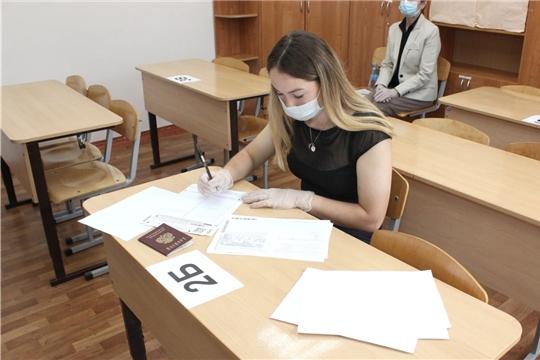 ЕГЭ в Чувашии принимают при строгом соблюдении рекомендаций Роспотребнадзора, чувашинформ.рф