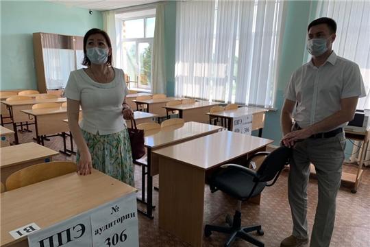 Министр Сергей Яковлев с рабочей поездкой посетил Вурнарский и Красноармейский районы