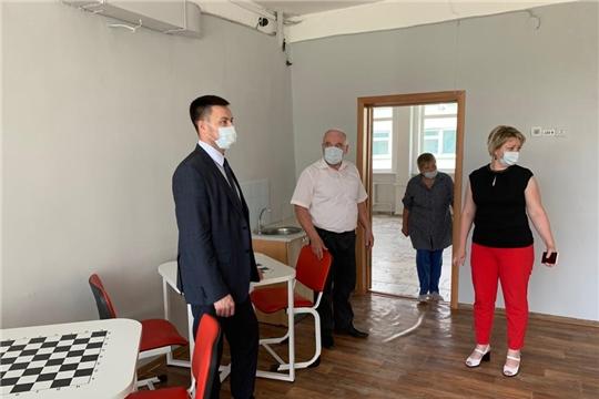 Министр Сергей Яковлев с рабочей поездкой посетил город Алатырь и Алатырский район