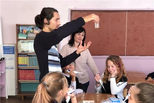 Новочебоксарский «Кванториум» провёл мастер-классы для учеников школ