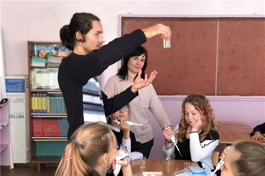 Новочебоксарский «Кванториум» провёл мастер-классы для школьников