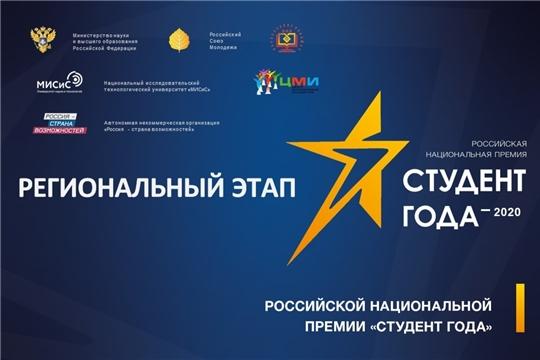Подведены итоги регионального этапа премии «Студент года – 2020» среди профессиональных образовательных организаций