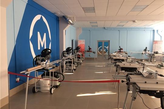 Открытие специализированных мастерских в Чебоксарском техникуме транспортных и строительных технологий