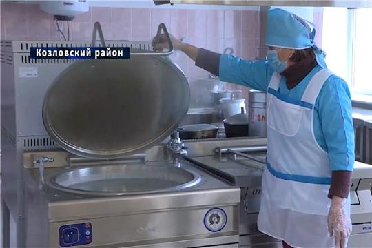 Организация горячего питания в Козловском районе, НТРК Чувашии