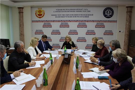 Совещание по вопросу капитального ремонта учебных заведений Чувашской Республики
