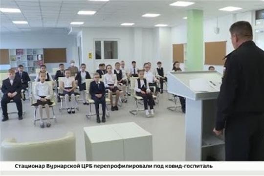 """Помнить - значит знать: чебоксарским школьникам рассказали о подвиге строителей Сурского рубежа, ГТРК """"Чувашия"""""""