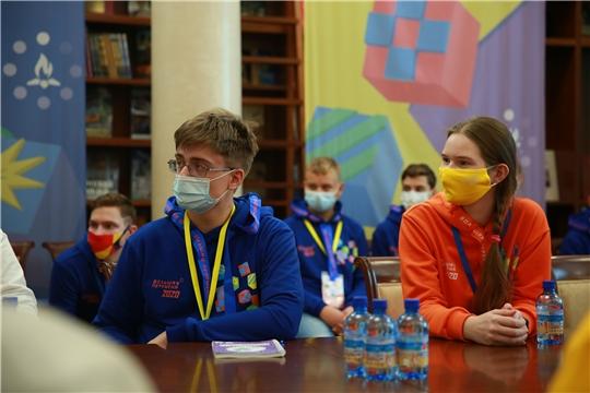 Школьники Чувашии участвуют в финале всероссийского конкурса «Большая перемена»