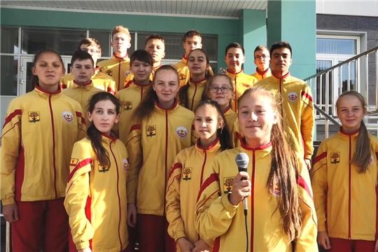Школьники Чувашии достойно представили республику на всероссийских спортивных мероприятиях