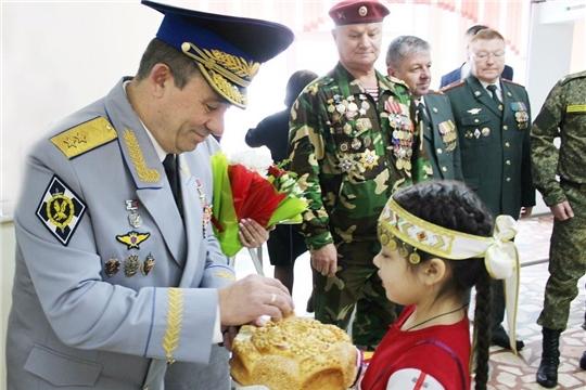 Имя Героя Российской Федерации Николая Гаврилова присвоено одной из школ Чувашии