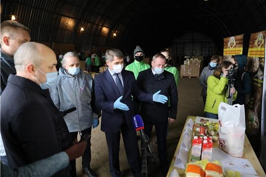 Волонтеры доставят продуктовые наборы для 19 тысяч жителей Чувашии