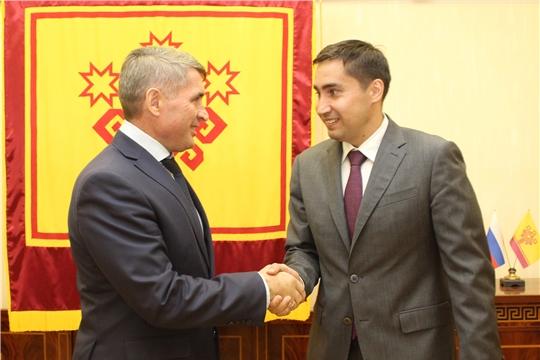 Олег Николаев провел встречу с заместителем Министра энергетики Российской Федерации