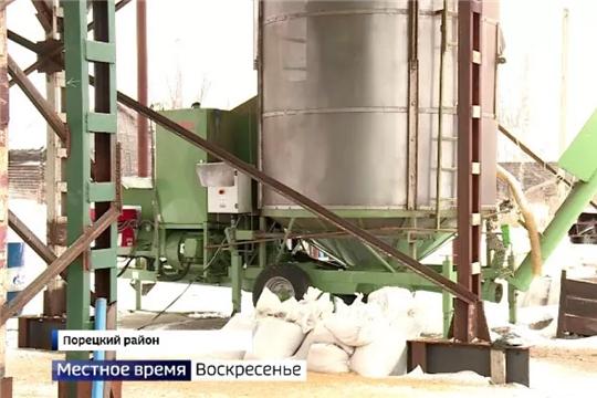 Чувашия начала экспортировать экологически чистый лен
