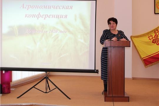 Агрономическая конференция в Порецком районе